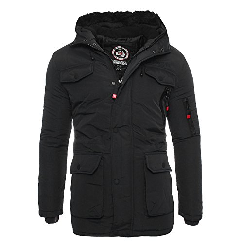 Uomo Invernale Geographical Norway Alos Giacca Da Nero 4CqFCAwZx