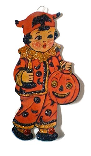 Halloween Ornament Decoration Costume Pumpkin Girl