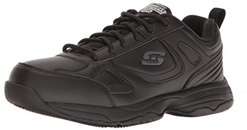 Skechers Work Women's Dighton Bricelyn Work Shoe, Black, 6.5 M US by Skechers