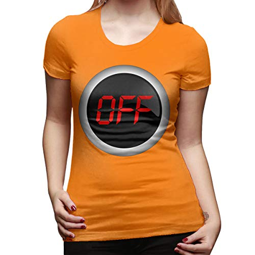 Ida Piers Off Women's Short Sleeve T Shirt Color Orange Size 33]()
