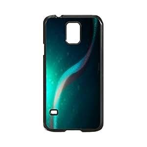 Blue Custom Hard Plastic back Phones Case for Samsung Galaxy S5 I9600 - Galaxy S5 I9600 Case Cover