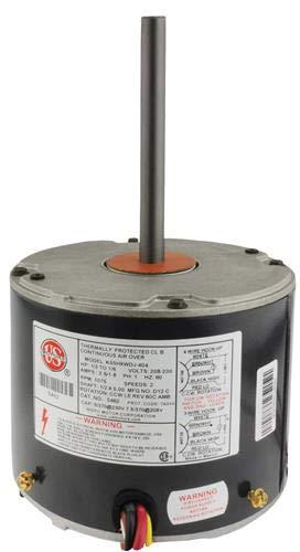 Rescue Condenser Motor - 1/3 to 1/6 hp 208-230/1/60 (1075 RPM/2 Speed) # 5462