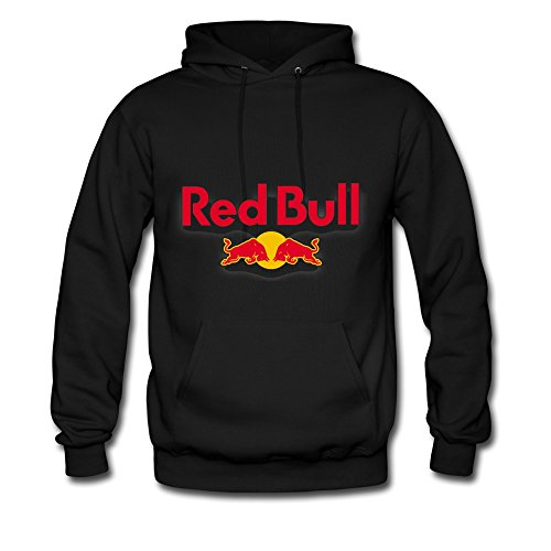 8200e20699927 New York Red Bulls Logo Hooded Sweatshirt For Men And Women Black XXL