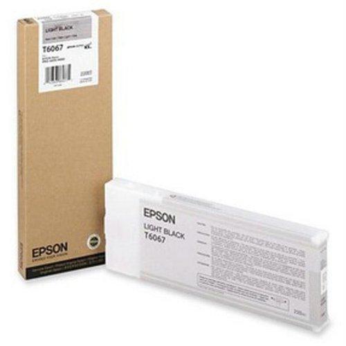 Epson Light Black UltraChrome K3 Ink Cartridge 220ML for Stylus Pro 4800/4880 ()