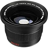 Digital HD Super Fisheye Lens with Macro For JVC GC-PX100 GZ-GX1
