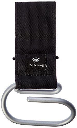 think-king-jumbo-swirly-hook-for-strollers-walkers-brushed-aluminum-black