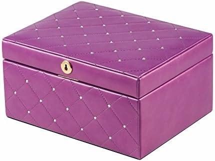 lzzfw Joyero Caja de regalo de Navidad Caja grande de diamante ...