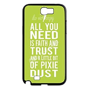 DIY Phone Case for Samsung Galaxy Note 2 N7100, Faith and Trust Cover Case - HL-705046