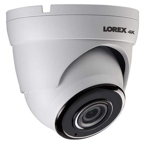 Lorex LKE383A 4K Ultra HD 8-Megapixel Outdoor Network Bullet Camera with Audio