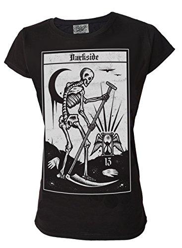 Darkside, Death Tarot Card T-Shirt für Damen
