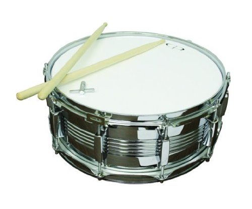 GP Percussion, SDC201, 14'' x 5 1/2'' Snare Drum with Sticks