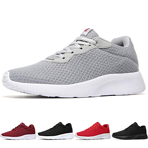 Running Athletic Sneakers Shoes - MAIITRIP Men's Running Shoes Sport Athletic Sneakers,Grey White,Size 10.5