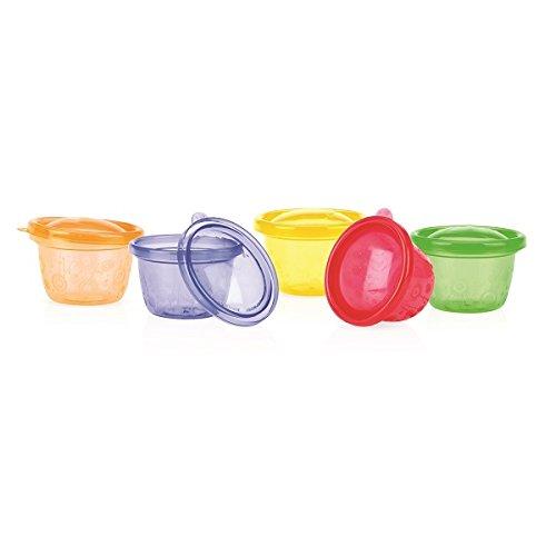 6 Bols couleur/és avec couvercles diam/ètre 12cm Ca. Nourriture pour b/éb/és//picnic by DURSHANI