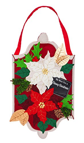 Outdoor Lighted Poinsettias in US - 2