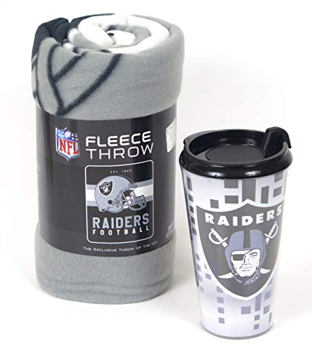 Oakland Raiders Blanket Raiders Fleece Blanket