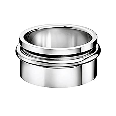 Calvin Klein Jewelry Twice Men's Ring KJ29CR010110