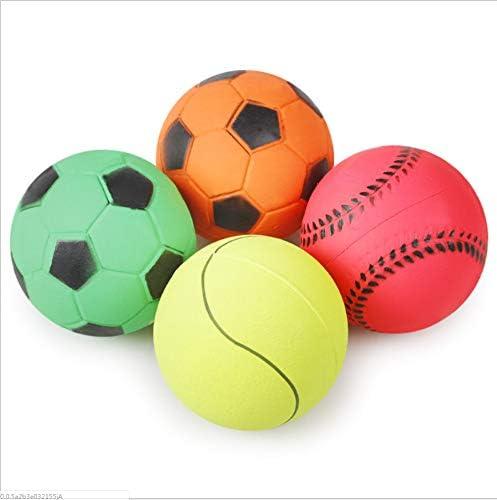 NIJY Molar TPR Perro Fluorescente Bouncy Ball Color Goma Sólida ...