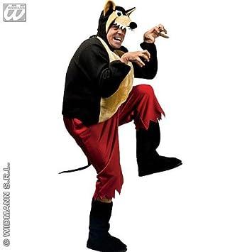 Desconocido Disfraz de Lobo Adulto: Amazon.es: Juguetes y juegos