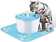 Anself 1.6L Automático Pet Fonte de Água Beber Silencioso Dispensador de Água Elétrico Tigela Alimentador para