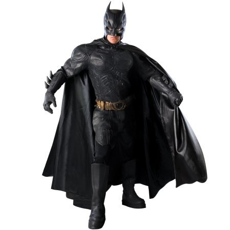 Rubies Costumes 149878 Batman Dark Knight - Batman Grand Heritage Collection Adult Costume - Black - (Grand Heritage Costumes)