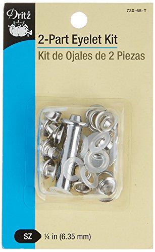 Dritz 2-Part Eyelet Kit 1/4