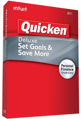 Quicken Deluxe 2012 OLD VERSION product image