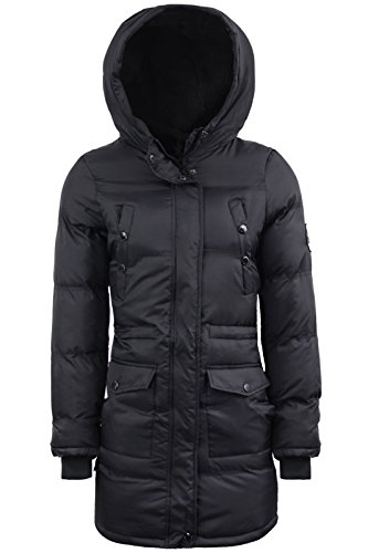 16 Coat Padded Range Parka 8 Womens Sizes Ast Brave Lightweight Soul Black wqXRzR