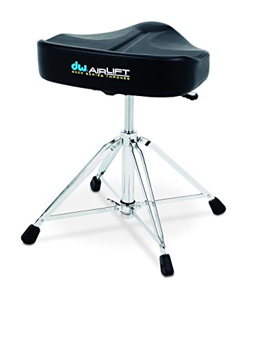 DW Drum Workshop CP9120AL 9000 Series Heavy Duty Air-lift Throne w/ Tractor (Tractor Seat Drum Throne)