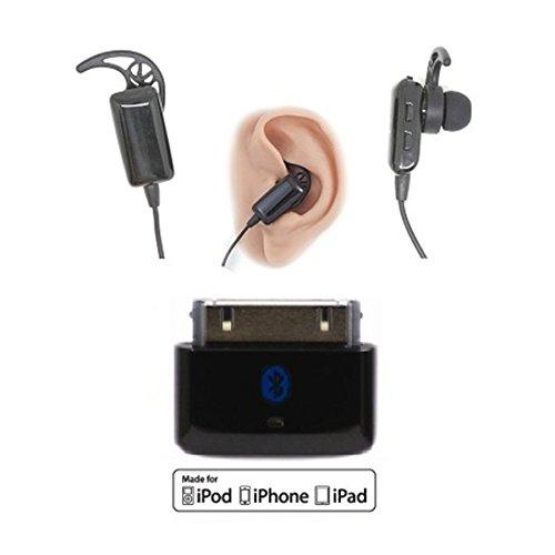 KOKKIA i10s_Plus_i10sTwin: i10s (Black) Tiny Bluetooth Transmitter Compatible with Apple iPod/iPhone/iPad + i10sTwin Tiny EDR (Enhanced Data Rate) Bluetooth Stereo Headset by KOKKIA (Image #5)