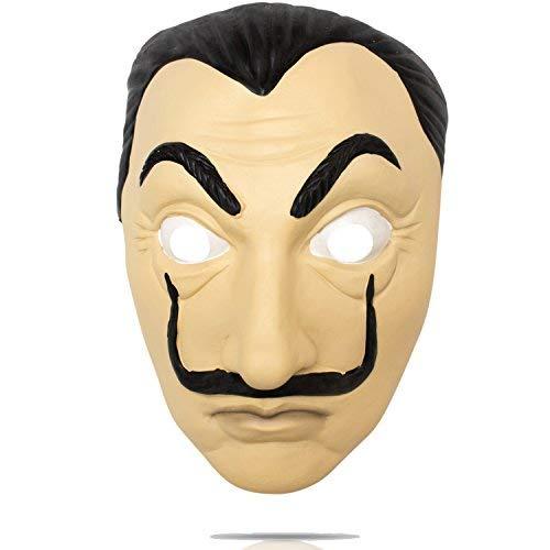 Haus Des Geldes Unisex Bankrauber Kostum Overall Und Dali Maske La