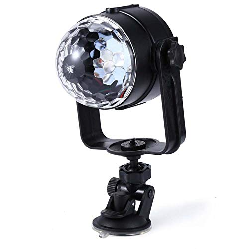 - Laogg Stage Light LED, Mini LED Stage Light Remote Controls Light Disco USB Ball Lights Home LED Party Lamp