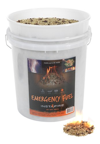 Instafire Granulated Fire Starter, All Natural, Eco-Friendly, Lights up to 625 Total Fires in Any Weather, Awarded 2017 Fire Starter Of The Year, 5-Gallon Bucket
