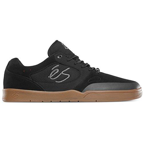 Es Veloz De Los Hombres 1,5 Zapato De Skate Negro / Goma