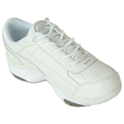 Dr Zen Sport 2 Mens Therapeutic Diabetic Extra Depth Shoe Leather Lace White JhipHNc7