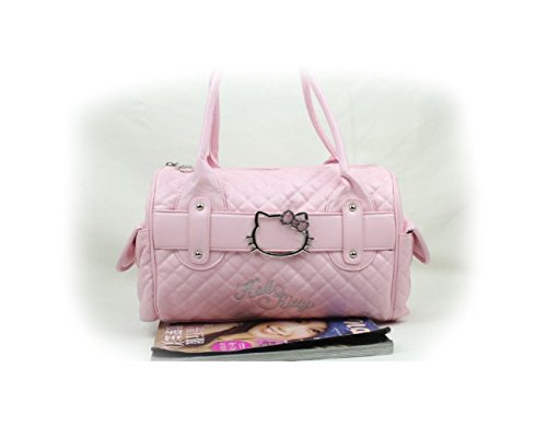 HelloKitty Handbag Shoulder Cross-body Messenger Bag Tote Purse (Pink)
