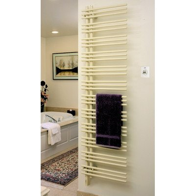 Runtal VTR-5223-5008 Versus Hydronic Towel Radiator 52-in H x 23-in W Gray Blue 5008 Hydronic Towel Radiator