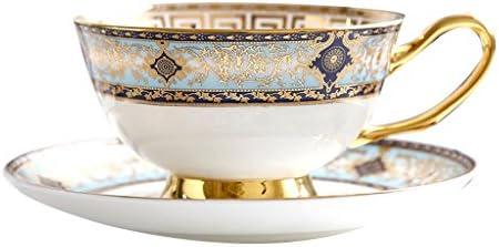 Eoco Taza y taza de café de cerámica Taza de porcelana clásica de ...