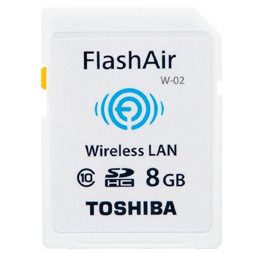 Toshiba N And Flash Memory (Toshiba SDHC memory card (FlashAir) 8 GB SD-WC008G)