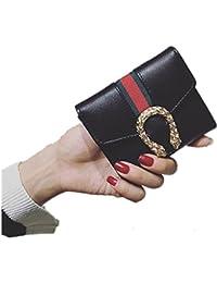 Small Compact Bi-fold PU Leather Pocket Wallet
