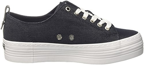 get to buy online Calvin Klein Jeans Women's Zolah Denim Low-Top Sneakers Blue (Ind 000) discount sneakernews footlocker pictures u0Q4rxOV