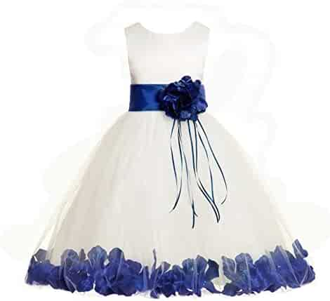 9d10ff6cd79 ekidsbridal Rose Petals Ivory Flower Girl Dress Birthday Girl Dresses  Reception Dress 007ss