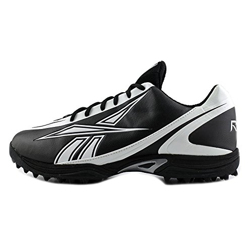 LOW MENS REEBOK PRO CLEATS BURNER M MOLDED QUAG 14 WHITE SPEED BLACK FOOTBALL pHnOBnqI