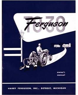 1946 1954 ferguson te 20 to 20 to 30 tractor repair shop manual 1951 1952 1953 1954 ferguson to30 tractor owners manual fandeluxe Gallery