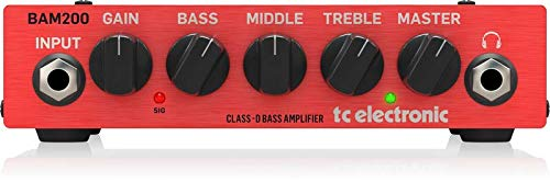 TC Electronic Bass Amplifier Head (BAM200)