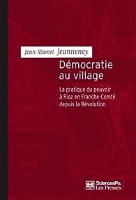 Démocratie au village par Jean-Marcel Jeanneney