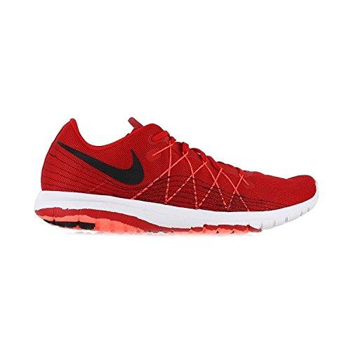 Nike Flex Fury 2, Scarpe da Corsa Uomo Rosso / Nero / Arancione / Bianco (Unvrsty Rd / Blk-ttl Crmsn-white)