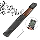 YZNLife Pocket Guitar Chord Trainer Beginner Practice Guitar Tool Portable with a Rotatable Chords Chart Screen,6Fret
