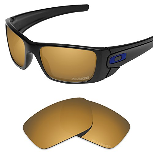 - Tintart Performance Lenses Compatible with Oakley Fuel Cell Polarized Etched-Tungsten Gold