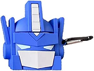 3D Transformers - For Airpods cartoon Silicone Carrying Case Cover Design