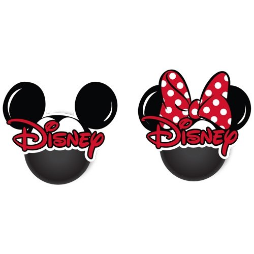 Disney Mickey Minnie Head 2pk Antenna Topper jerry leigh